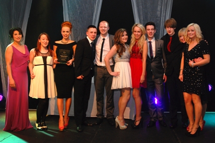 Caffe Cream Wirral Tourism Award winners