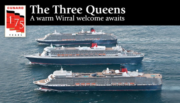 Cunard Three Queens Wirral