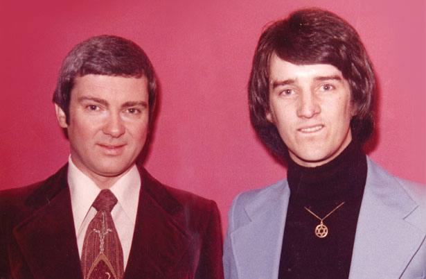 Gene Pitney and Tommy Carey at the Floral Pavilion Wirral