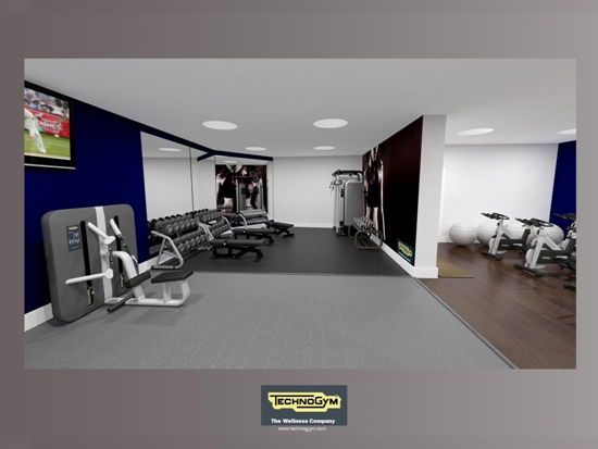 Thornton Hall Hotel and Spa, gym, Wirral