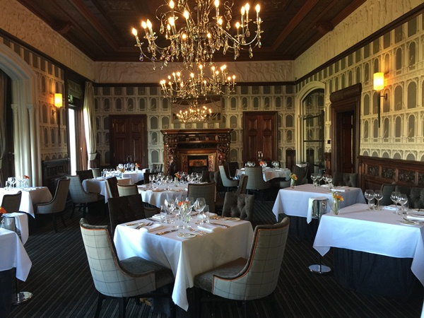 Lawns restaurant, Thornton Hall hotel
