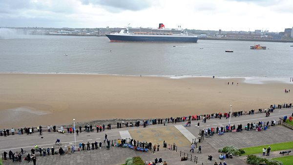 Three Queens New Brighton Wirral Cunard