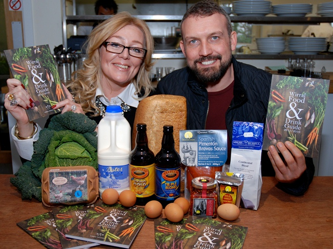 Wirral Food and Drink Guide Launch, Claremont Farm