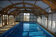Indoor swimming pool at Barnacre