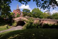Dell Bridge|Grade II listed building in Port Sunlight