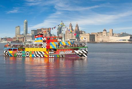 The Mersey Ferries Dazzle Ferry