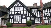 Port Sunlight Holiday Cottage exterior, located in the beautiful garden village.