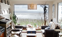 Shore Cottage view through window