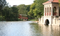 Birkenhead Park Swiss Bridge & Boathouse