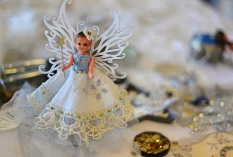Christmas Fairy Day : Handstitched Loveliness